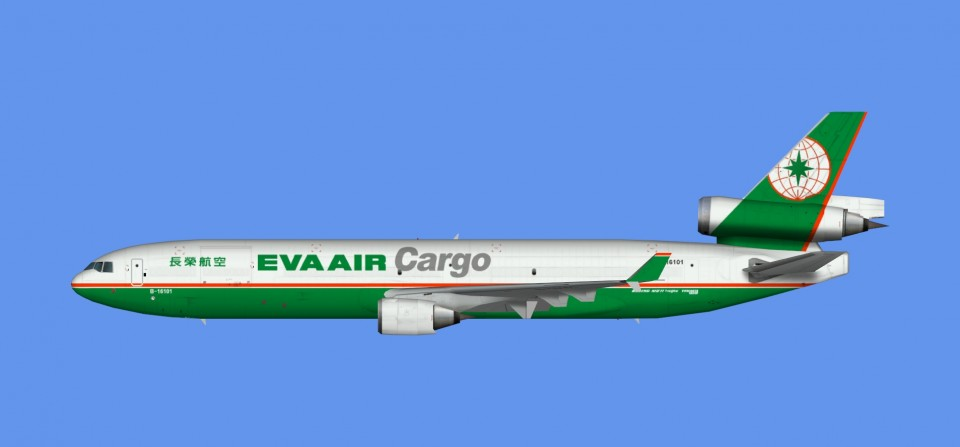 Eva Air Cargo McDonnell Douglas MD-11 (FSX,Prepar3D)