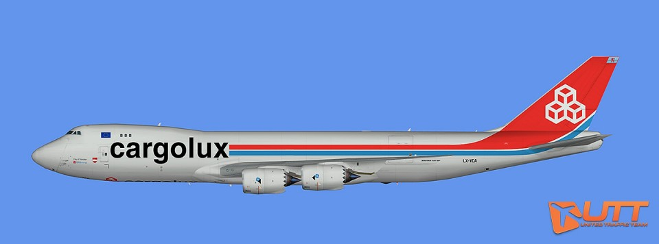 Cargolux Boeing 747-8F (FSX)
