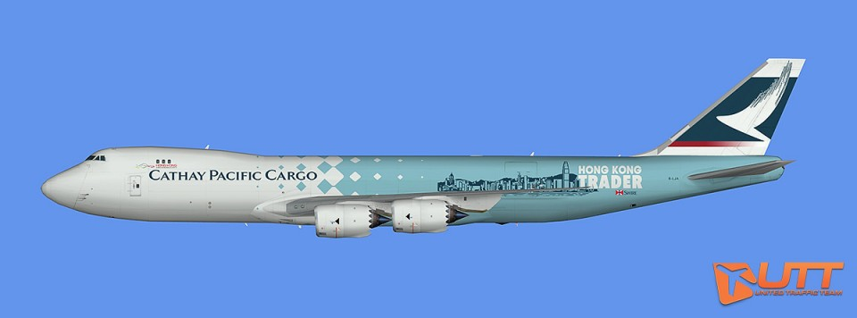 Cathay Pacific Boeing 747-8F (FSX)