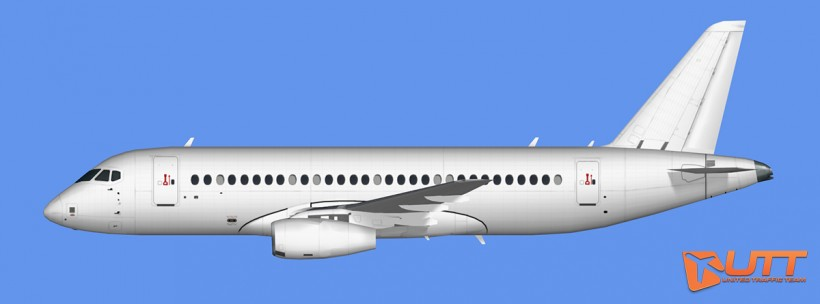 UTT AI Sukhoi Superjet 100