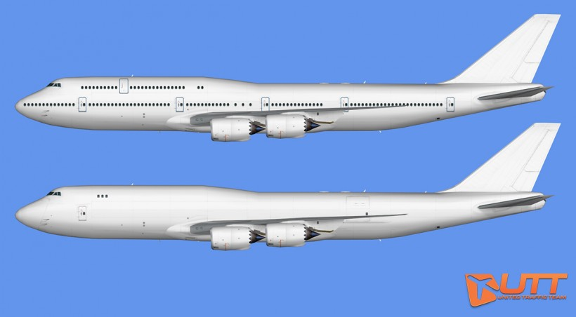 UTT AI Boeing 747-8i,747-8F