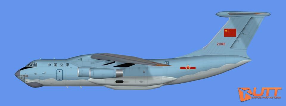 RATS China Air Force IL-76
