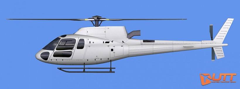 UTT AI Eurocopter AS350 (Heli)