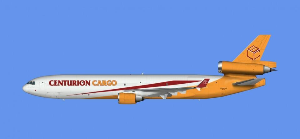 Centurion Cargo McDonnell Douglas MD-11 (FSX,Prepar3D)