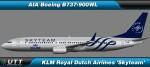 Boeing B737-800 wl KLM 'SkyTeam'