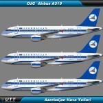Airbus A319 Azerbaijan Airlines