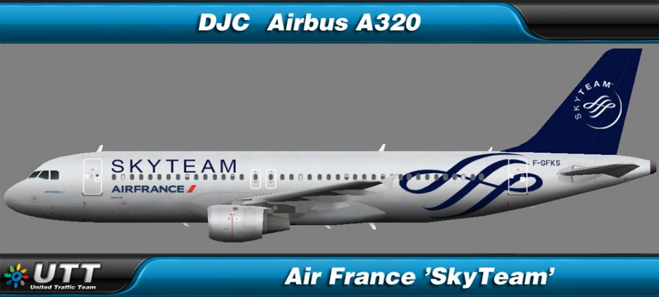 Airbus A320-200 Air France 'SkyTeam'