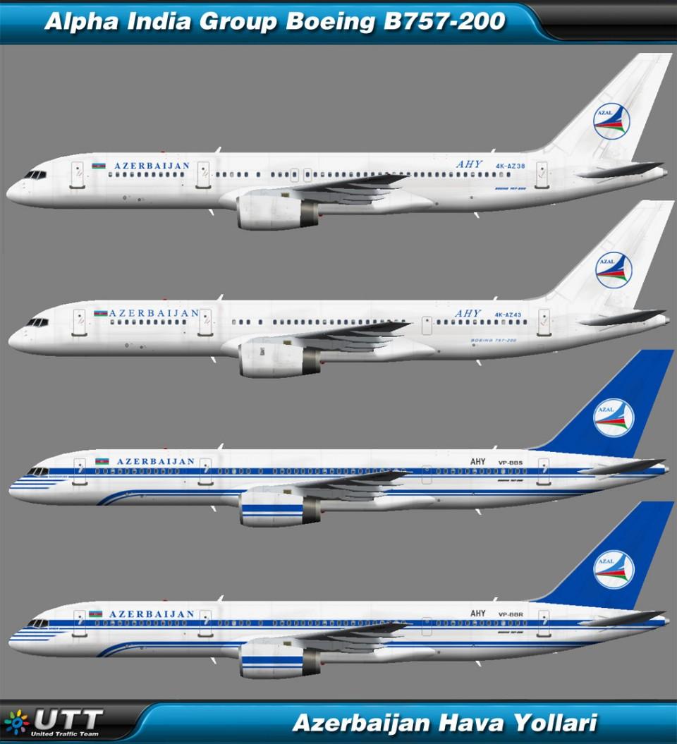 Boeing B757-200 Azerbaijan Airlines