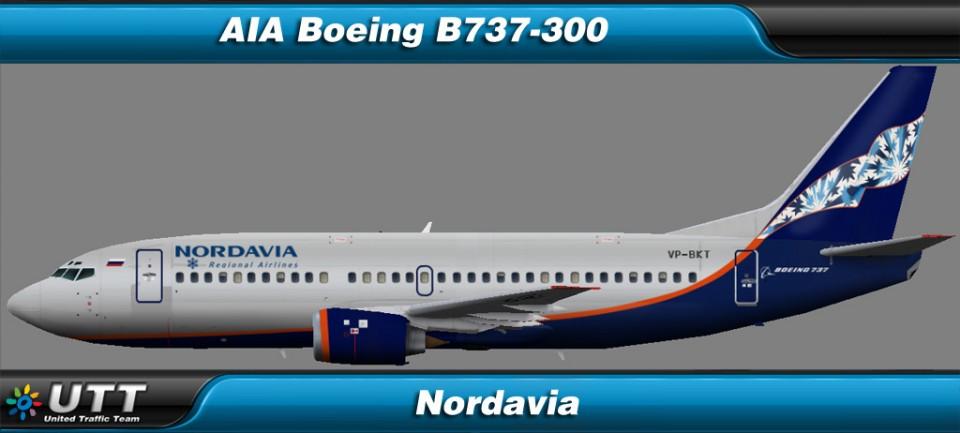 Boeing B737-300 Nordavia