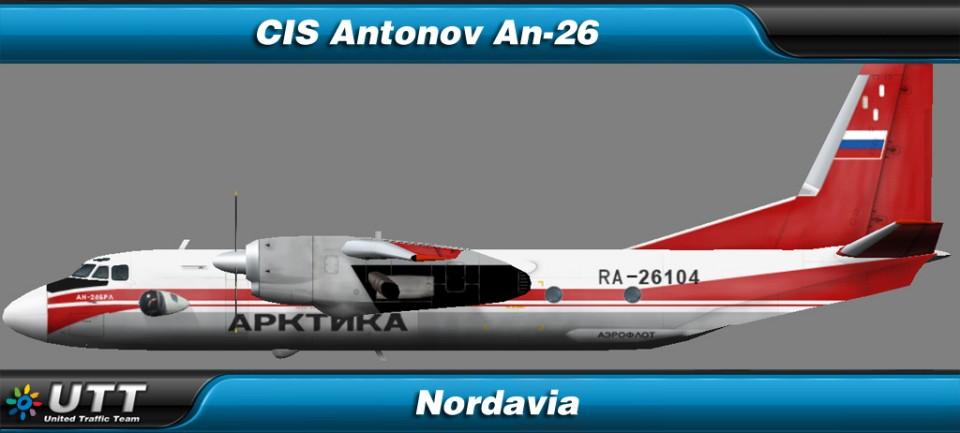 Antonov An-26 Nordavia