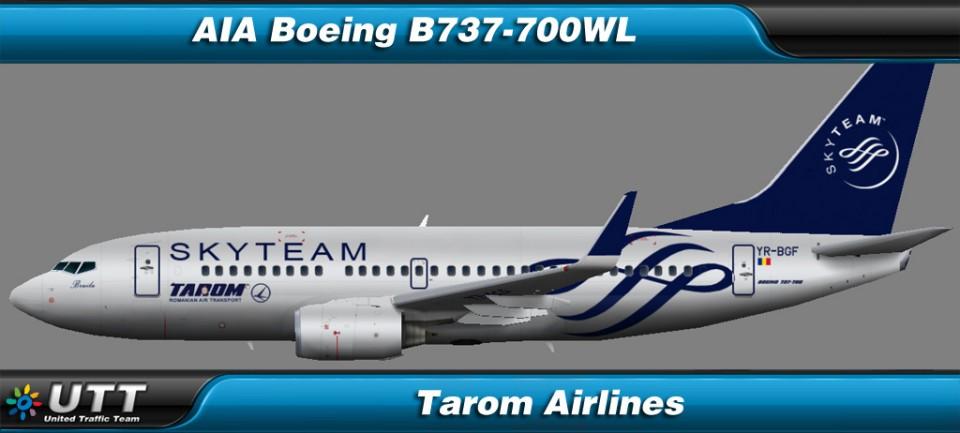 Boeing B737-700WL Tarom