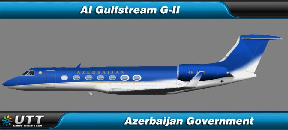 Gulfstream G550 Azerbaijan Government