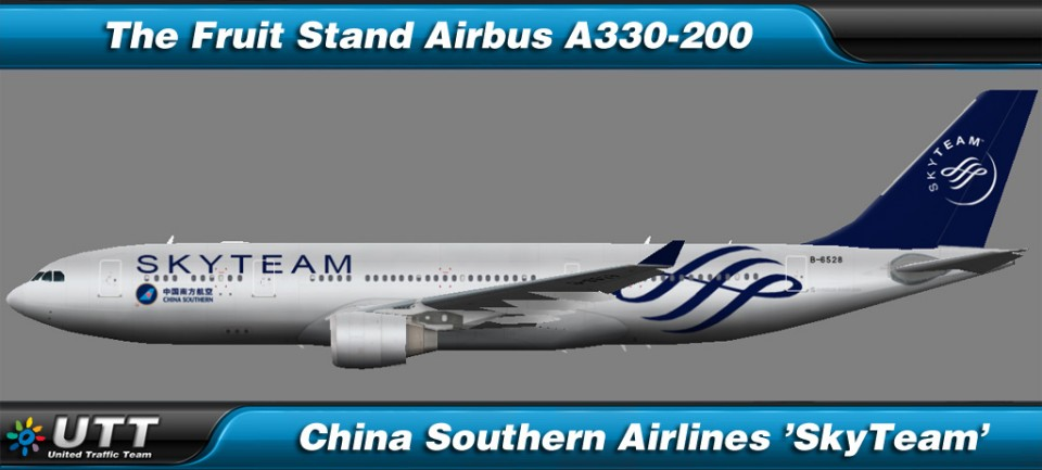 Airbus A330-200 China Southern Airlines 'SkyTeam'