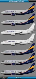 Boeing B737-500 Donavia