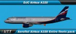 Airbus A320 Aeroflot (Entire fleet pack)