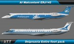 Embraer ERJ145 Dniproavia (Entire fleet pack)