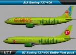 Boeing B737-400 S7 (Entire fleet pack)