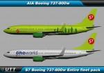 Boeing B737-800w S7 (Entire fleet pack)