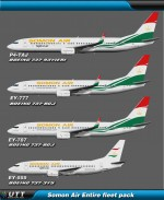 Somon Air Airlines (Entire fleet pack)