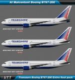 Boeing B767-200 Transaero (Entire fleet pack)