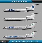 Tupolev TU-154M Utair (Entire fleet pack)