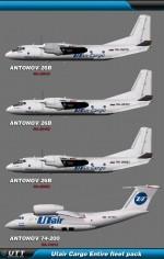 Utair Cargo (Entire fleet pack)