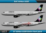 Airbus A320 Volaris (Entire fleet pack)