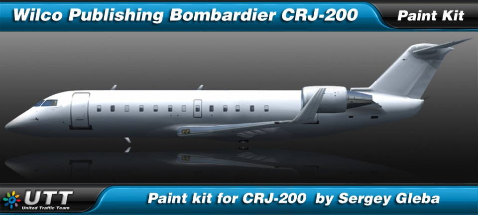 Bombardier CRJ-200 by Wilco Publishing Paint Kit