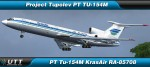 Tupolev TU-154M KrasAir RA-85708