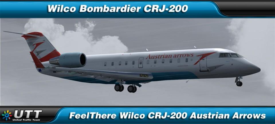 Bombardier CRJ-200 Austrian Arrows
