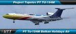 Tupolev TU-154M Balkan Holidays Air
