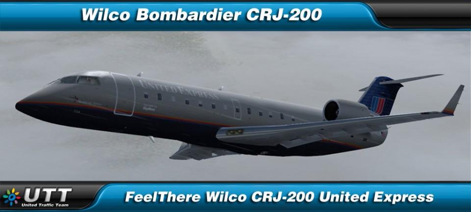 Bombardier CRJ-200 United Express