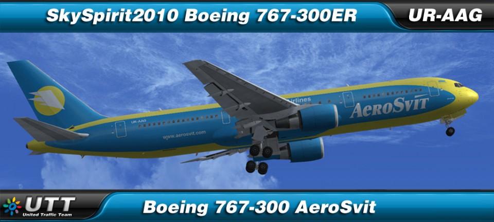 Boeing 767-300 AeroSvit - UR-AAG