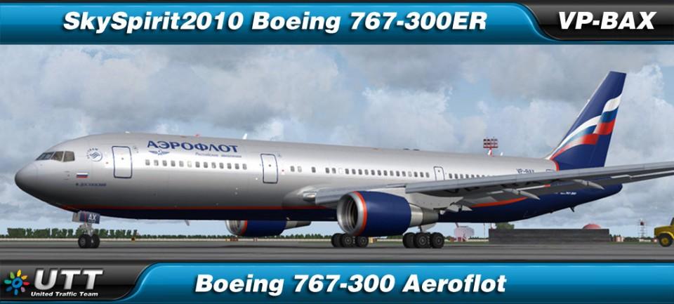 Boeing 767-300 Aeroflot - VP-BAX