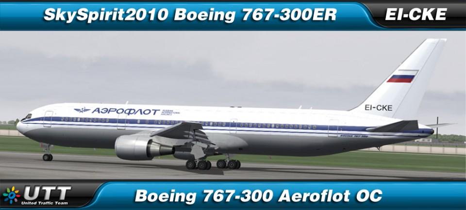 Boeing 767-300 Aeroflot - EI-CKE