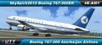 Boeing 767-300 Azerbaijan Airlines - 4K-AI01