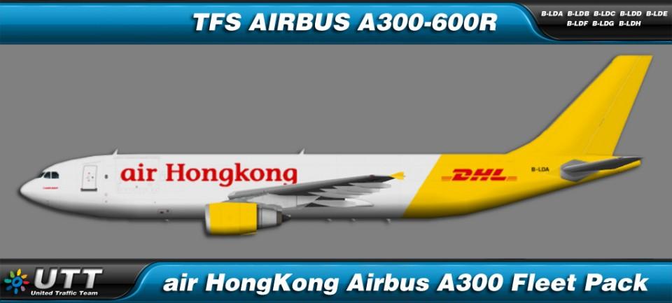 Air HongKong Airbus A300-600R Fleet