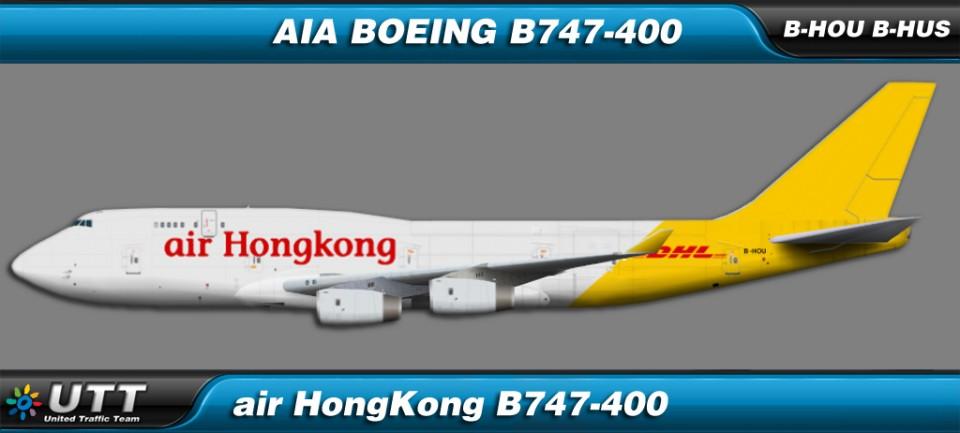 Air Hong Kong Boeing 747-400BCF B-HOU & B-HUS