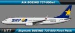 Skymark Airlines Boeing 737-800w fleet