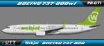 Webjet Boeing 737-800 PR-GTI