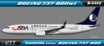 Shandong Airlines Boeing 737-800wl B-5452