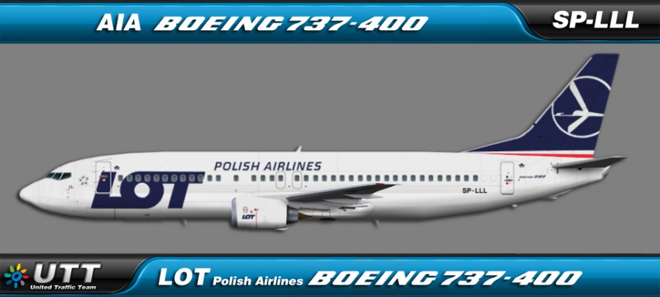 LOT Polish Airlines Boeing 737-400 SP-LLL