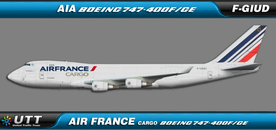 Air France Cargo Boeing 747-400F/GE F-GIUD