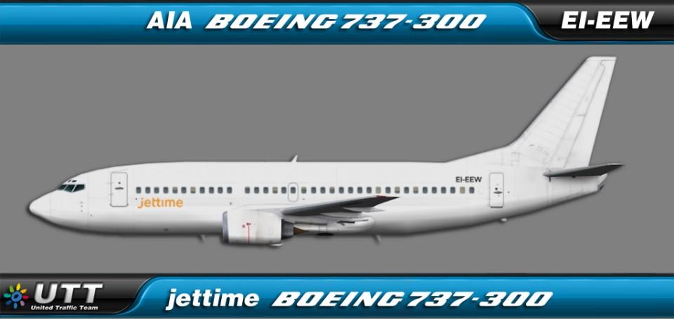 Jettime Boeing 737-300 EI-EEW