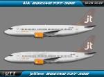 Jettime Boeing 737-300 OY-JTE & OY-JTF