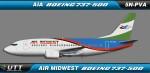 Air Midwest Boeing 737-500 5N-PVA