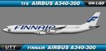 Finnair Airbus A340-300 OH-LQD