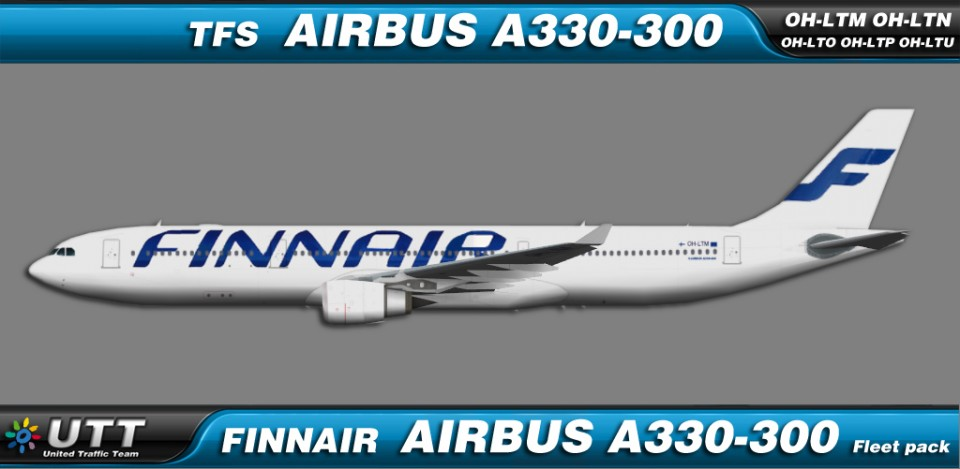 Finnair Airbus A330-300 fleet