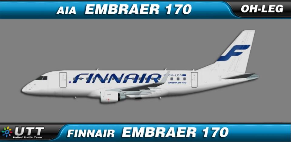 Finnair Embraer 170 OH-LEG