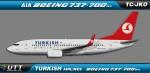 Turkish Airlines Boeing 737-700w TC-JKO